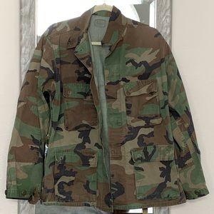 Jackets & Blazers - Vintage camouflage army military jacket